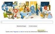 Joyeux réveillon : L'ultime Doodle avant la Bonne Année | Publicité Créative | Scoop.it