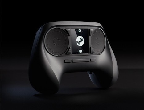 Will Valve's Crazy 'Steam Controller' Reinvent the Gamepad? | Game|Life | Wired.com | Technology and Gadgets | Scoop.it