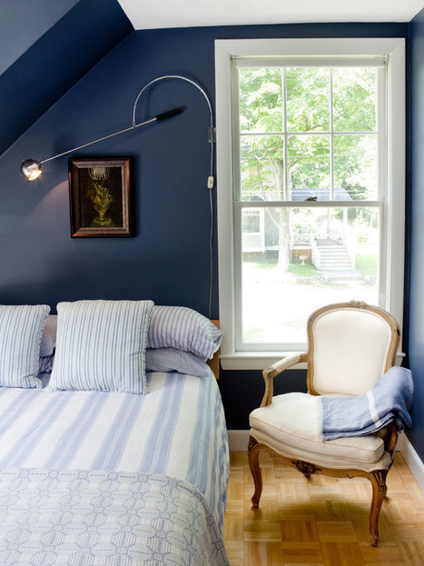Blue And White Bedding Design Ideas, Pictures, Remodel, and Decor | Blue and White Bedding | Scoop.it