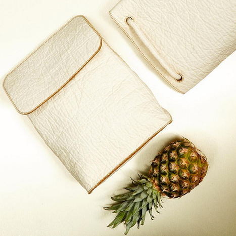 Vegan Leather Made Out of Pineapples Could Take the Fashion World by Storm | The Conscious Vegan | Scoop.it