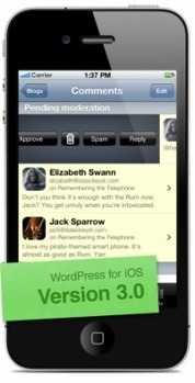 WordPress lanza la version 3.0 para iOS | Aprendiendo a Distancia | Scoop.it