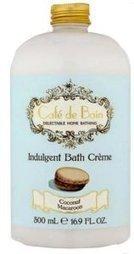 Crème de bain Macaron et Coco Café de Bain - L'Accro du Bain   L'Accro du Bain boutique de produits pour le bain et savons gourmands:boule de bain, savons de Marseille,savon artisanal,cupcake de bain, savons cupcakes   Scoop.it