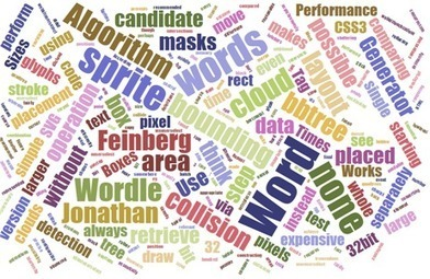 A Word Cloud Generator with an Angle | Cool School Ideas | Scoop.it