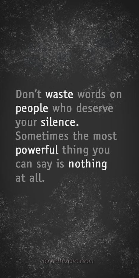 Don't waste words on|Inspirational Quotes | allwaysbehappy | Scoop.it