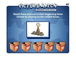 Picture Match | Early Learners Online Literacy Activities | Scoop.it