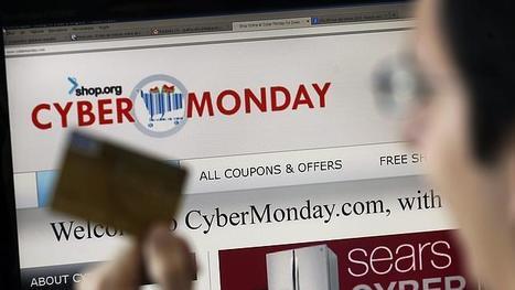 Las ventas por internet arrasan en el «Cyber Monday» con eBay a la cabeza #coolhunting | #Coolhunting Empresarial | Scoop.it