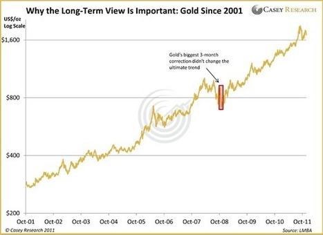Why Has #Gold Been Down? - Casey Research | Commodities, Resource and Freedom | Scoop.it
