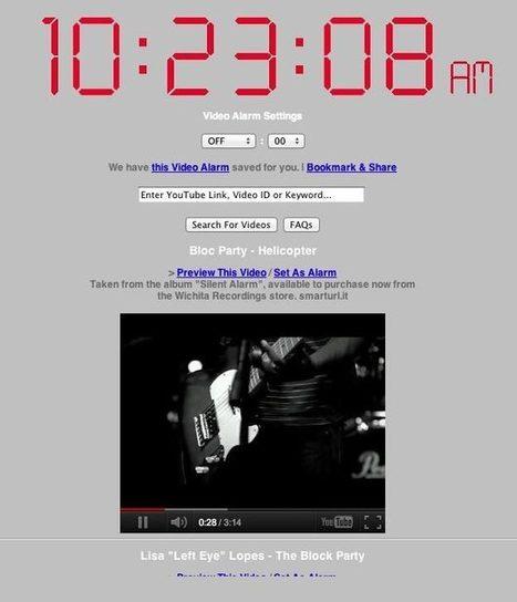 Réveillez-vous avec vos vidéos YouTube | Time to Learn | Scoop.it