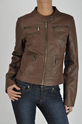 PREMIUM FAUX LEATHER MOTOCYCLE JACKET-PLUS.SHELL: | Women's Clothing at Bvira.com | Scoop.it