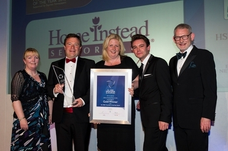 Home Instead Senior Care - Team effort wins Gold award for Home Instead – Message from Trevor Brocklebank, CEO - The world's leading domiciliary care company. | Home Care | Scoop.it