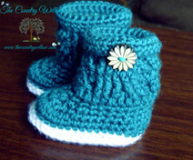 Free Pattern Charlotte Marie Boots | Crocheting for my family | Scoop.it