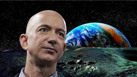 Le patron d'Amazon a une solution un peu folle pour sauver la terre | Home | Scoop.it