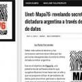 Mapa76: Periodismo de datos para mostrar los abusos de la dictadura Argentina - Global Voices en español | Infornación | Scoop.it