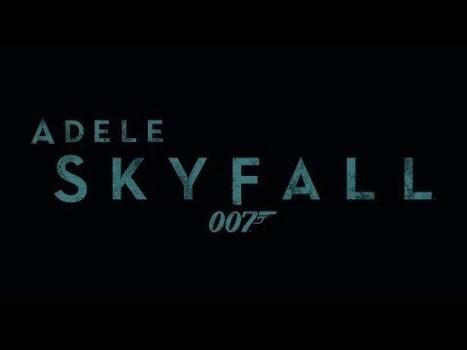 Partition piano de Skyfall joué par Adèle - Retour à l'accueil - OverBlog | partoche | Scoop.it