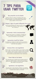 7 consejos para usar Twitter #infografia #infographic #socialmedia | PyMES y Entrepeneurs | Scoop.it