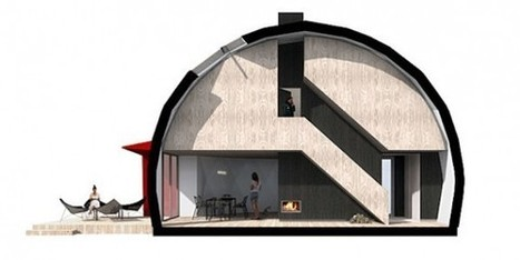 DOM(E): Sustainable Geodesic Prefab for Any Location | sustainable architecture | Scoop.it