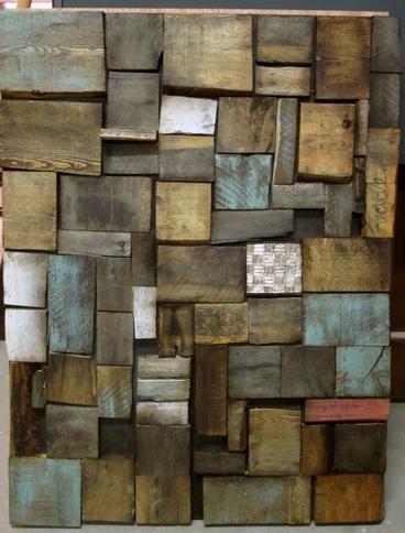 Pallets wall art | 1001 Pallets | DIY | Scoop.it