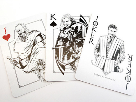 Game of Thrones Playing Cards: Poker is Coming | Mon Web Bazar | Scoop.it