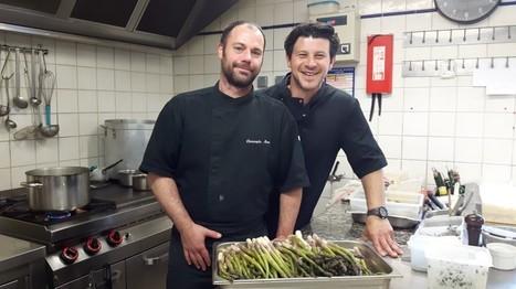 A Conilhac-Corbières, David Prevel cuisine son jardin… - Tables & Auberges de France   Actualité du monde de la gastronomie   Scoop.it