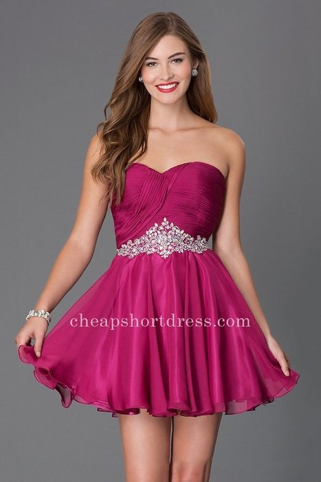 Beaded Alyce Sweet 16 3643 Raspberry Mini Dresses [Alyce Paris 3643] - $145.00 : Short dresses | Homecoming Dresses | Short Bridesmaid Dresses | Cocktail Dresses | Prom & Homecoming Dresses | Scoop.it