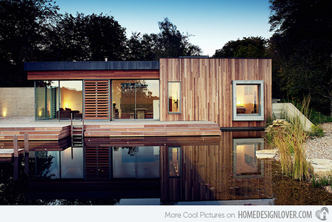 Green Roofed and Eco-Friendly New Forest House by PAD Studio - Home Design Lover | Architecture and Architectural Jobs | Scoop.it