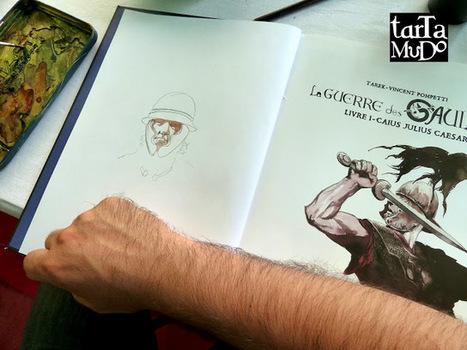 La guerre des Gaules: Salon de Luchapt en juillet 2013 | La Guerre des Gaules en BD | Scoop.it