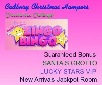 Play at Zingo Bingo and Win Cadbury Christmas Hampers | Free Slots Online | Scoop.it