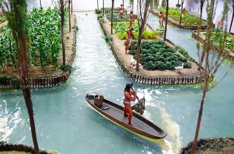 The Ingenious Floating Gardens Of The Aztecs... | The Integral Landscape Café | Scoop.it