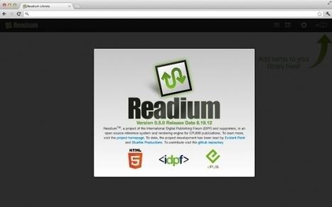 Readium arrive sur le Chrome Store : des EPUB 3 à foison | Bib & Web | Scoop.it
