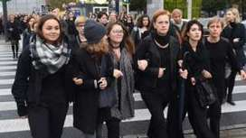 Polish women strike against abortion ban | Fabulous Feminism | Scoop.it