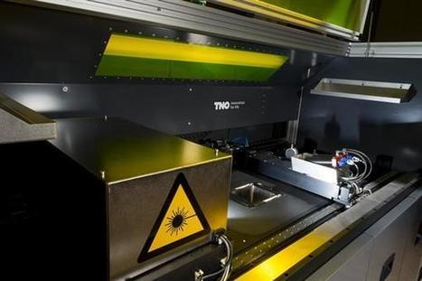 TNO and TUe launch 3D printing research centre for smart electronics, medical devices and more | 3D Printing | Scoop.it