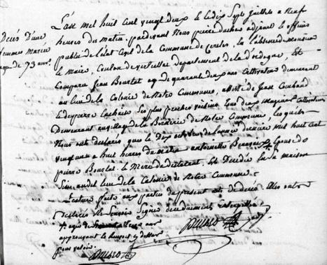 Une curieuse déclaration de décès - www.histoire-genealogie.com | GenealoNet | Scoop.it