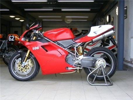 Zero-mile Ducati 996 SPS for sale | Ductalk | Scoop.it