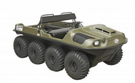 Argo's 8×8 Amphibious Utility Terrain Vehicle | Heron | Scoop.it