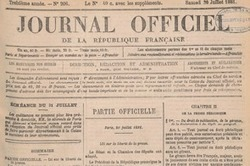 Gallica publie le Journal Officiel de 1869 à 1946 en mode texte | Rhit Genealogie | Scoop.it