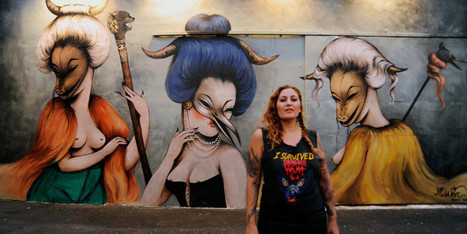 The Women Of Global Street Art | Médiation culturelle, art contemporain et publics réfractaires | Scoop.it