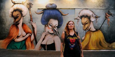 The Women Of Global Street Art | girls who art & graffiti | Scoop.it