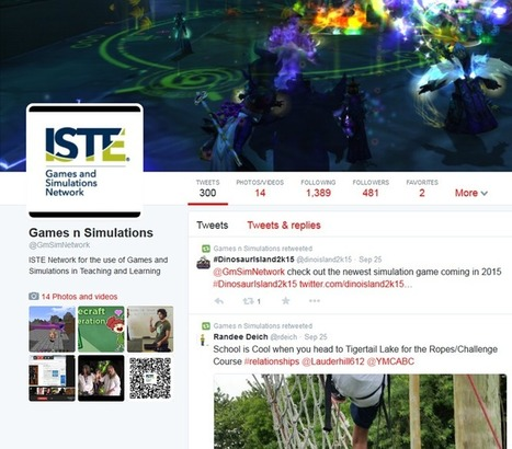 Event Description - ISTE - Games & Simulations | 3D Virtual-Real Worlds: Ed Tech | Scoop.it