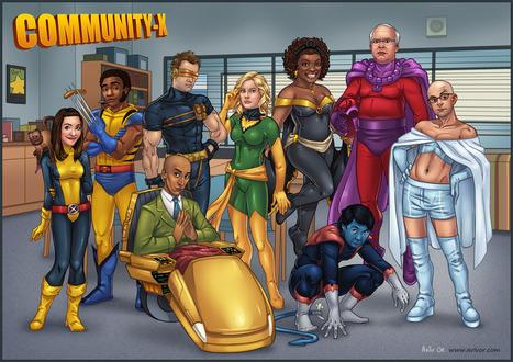 Community-X: The End! Community Cast as The X-Men | Comic Books | Scoop.it
