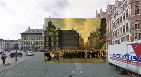 Des tableaux replacés dans Google Street View   [Art] - artist's point of view, creative process &  interesting pieces   Scoop.it