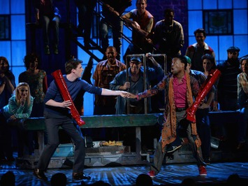"""""""Kinky Boots"""" wins best musical at Tony Awards 