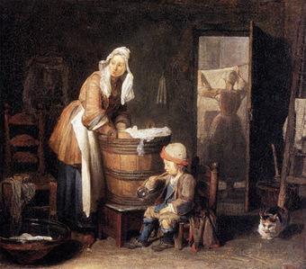 Les Petites Mains, histoire de mode enfantine: La vêture des Enfants trouvés (2) - Jusqu'au XVIIIe siècle, des tissus de laine, de chanvre et de lin   lucileee*   Scoop.it