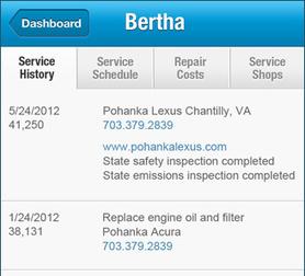 Breakthrough: An App For Car Maintenance | Breakthrough: An App For Car Maintenance | Scoop.it