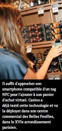 La NFC débloque de nouveaux scénarios de consommation | Mercadoc | Scoop.it