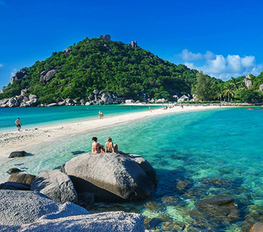 The most famous island should visit in the Gulf of Thailand | Make a Trip & Travel to the beach. | Scoop.it