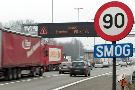 Politie extra waakzaam tijdens smogalarm - De Standaard   On the road   Scoop.it