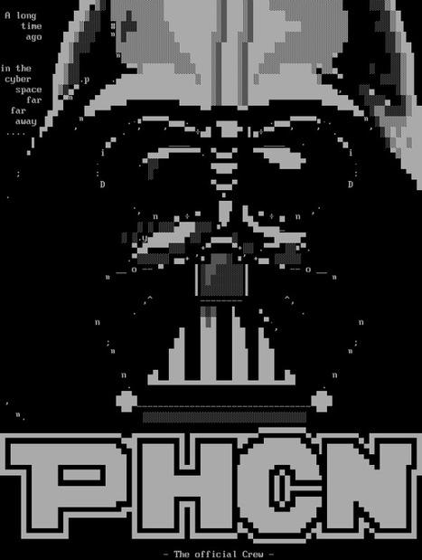 Darth Vader - [PHCN] #ANSI #Art on Twitpic   ASCII Art   Scoop.it