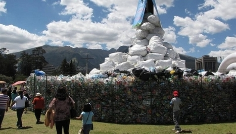 Ecuador: récord Guinness en reciclaje de botellas de plástico | la web y el medio ambiente | Scoop.it