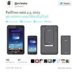 Asus PadFone Mini 4.3 se enfrentará al mercado chino | Smartphone libres | Scoop.it