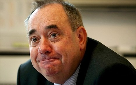 Why Alex Salmond has still not left the Commons - Telegraph | Yes Campaign 2014 | Scoop.it